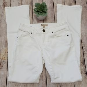 CAbi White Bootcut Jeans Size 2